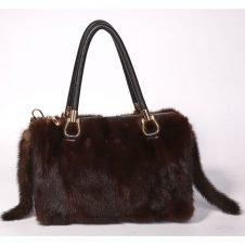 Mink Fur Handbag